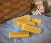 (5 Bars) 100% ORGANIC Hand Poured Beeswax - 30g each - Premium Quality, Cosmetic Grade, Triple Filtered Bees Wax