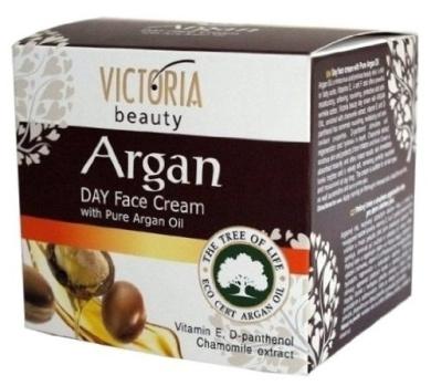 Day Face-Cream With 100% Pure Eco-Cert Argan Oil, Chamomile & Vitamin E - 50ml