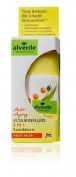 Alverde Sea-Buckthorn Anti-Ageing Vitamin Fluid - High in Anti-Oxidants - 30ml