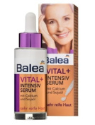 Balea Intensive Repair Face-Serum For Mature Skin (To age 75) with Calcium, Omega & Soya-Oil - No Animal Testing - 30ml