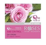 Age Control Day Cream Roses Q10 with Rose Oil and Vitamin E 50 ml
