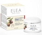 "Anti-Age night cream with Q10 for dry skin ""Elea Skin Care"" - 50 ml."