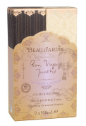 Beau Jardin Lavender and Jasmine Bon Voyage Travel Kit with Shower Gel and Body Lotion