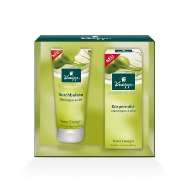 Kneipp New Energy Gift Set with Shower Gel 200 ml and Body Lotion 200 ml