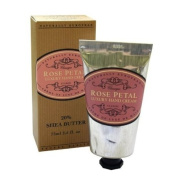 Naturally European Rose Petal Luxury Hand Cream Boxed 20% Shea Butter 75ml