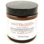 Wintergreen Ointment / Hand Cream, Ready To Apply Rub On Ointment, 60ml Jar.