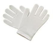 1 Pair moisturising Cotton White Gloves 100% cotton Health and Beauty Work dermalogical
