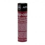 Apivita Propoline Lip Aid Care Balm,Black Currant Shade