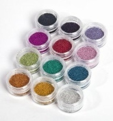 Moyou Nail Art Massive bundle Metal Micro Beads in 12 different colours!
