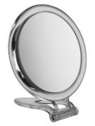 Circle Perspex Travel Mirror x 10 magnification - 10cm diameter