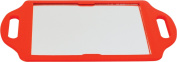 Matty Bond Street Hairdressing Beauty Salon Mirror with Twin Handle Red