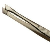 Hive Stainless Steel Angled Tweezer