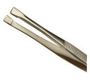 Hive Stainless Steel Straight Edged Tweezer