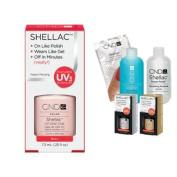 Cnd Shellac Usa Starter Kit - Beau Colour Starter Kit - Top & Base Coat + Essentials