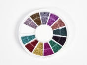 MoYou Nail Art Glass Micro-beads. Beautiful for Nail Decoration!!!!