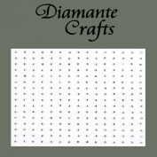 240 x 1mm Clear Diamante Self Adhesive Rhinestone Body Nail Vajazzle Gems - created exclusively for Diamante Crafts