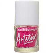 Models Own Artstix Nail Beads Neon Pink