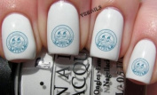 Amsterdam Netherlands Stamp - Nail Decals by YRNails