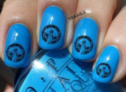 New York Usa Stamp - Nail Decals by YRNails