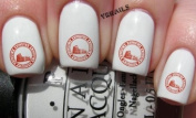 Rome City Travel Stamp - Nail Decals by YRNails