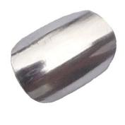 Chix Nails Nail Wraps Silver Chrome Lightening Fingers Toes Vinyl Foils Beauty Minx Style