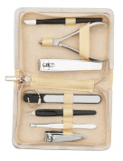 Danielle 7 Piece Sparkly Glam Manicure Set Champagne
