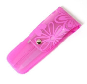 Pink Flower 5 Piece Nail Manicure Set
