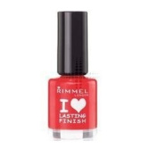 Rimmel NEW Lasting Finish Nail Polish 8ml Double Decker Red
