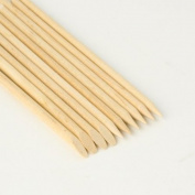 100 x Wooden Double Ended The Edge Cuticle Pusher Manicure Sticks Nail Art Picking Tool