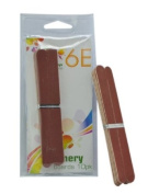 6E Emery Boards, 3 packs of 10, total 30 boards