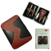 Manicure Kit Nail Art Set Nails Grooming and Pedicure Tool Kit x 7 Pieces