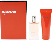Eve of Jil Sander - set with body lotion 30 ml + 75 ml