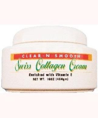 Clear n Smooth Swiss Collagen Cream (454g)