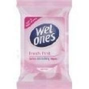 Wet Ones Soft & Refreshing Wipes Fresh Pink 12