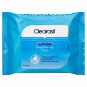 Clearasil Daily Clear Deep Cleansing 25 Wipes