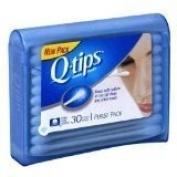 Q-Tips Swabs Purse Pack 30 Each