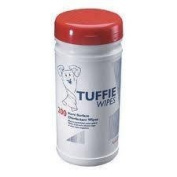 Vernacare Tuffie Disinfectant Wipes - Tub Of 200