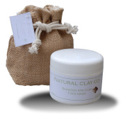 Natural 100% Clay & Seaweed Face Mask 120ml with gift jute bag /tags