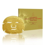 """Jamela-Luxury 24k Gold Sheet Face Mask (5 mask pack) As seen on Celebrity Big Brother & Towie. """"The Ultimate Facial"""" says The Daily Express"""
