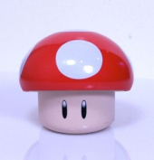 New Super Mario Brothers Red Mushroom Candy Tin [Cherry Sours]
