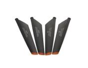 4pcs Double horse 9053 Main Blades (Black). shiping