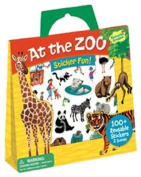 Peaceable Kingdom Press / Sticker Fun! 'At the Zoo' Reusable Sticker Tote