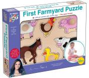 Dr Miriam Galt First Farmyard Puzzle