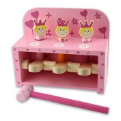 Princess Pop Up Peg Wooden Toy From Snuggle Collection