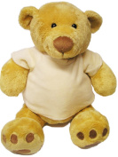 Soft and Cuddly, Mumbles Chubby Honey Bear -