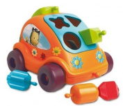 Smoby 212218 Cotoons Shapes in Holes Game Car