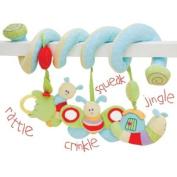 Little Bird Told Me Caterpillar Soft Activity Spiral Childrens Toy