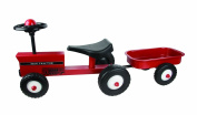 Great Gizmos Red Tractor with Trailer
