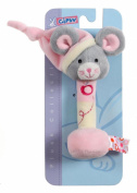 Gipsy Pomme 070157 Teething Toy Mouse 17 cm Pink