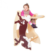 TRIHORSE® Baby 3in1 highchair RENE, a highchair, a rocking horse, and a small table and chair